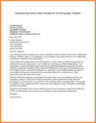Examples Cover Letter For Job Application 28 Sample Cover Letter Civil Engineering Job Application 6