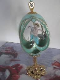 decorated goose eggs vintage faberge type decorated goose egg ornament ebay