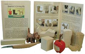 beginner woodcarving kit knife included chippingaway