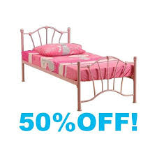 Metal Frame Single Bed Pink Metal Single Bed Frame Bed Frame Katalog F282aa951cfc