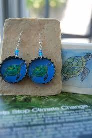 eco friendly earrings beerings for change