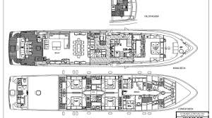 Yacht Floor Plan by Luxury Charter Yacht Sassy Hargrave Power Yacht 2016