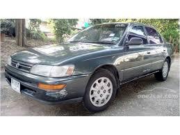 toyota corolla sedan 1993 toyota corolla 1993 gli 1 6 in ภาคตะว นออก manual sedan ส เทา for