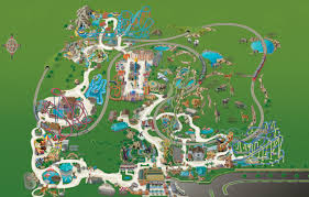 Orlando Parks Map by Interactive Park Map Busch Gardens Tampa Bay