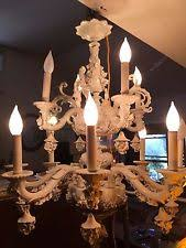 Italian Porcelain Chandelier Porcelain Antique Chandeliers Fixtures U0026 Sconces Ebay