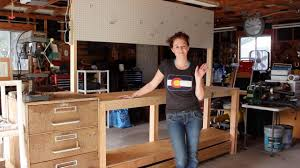 Woodworking Bench Plans Simple by Build A Simple 2x4 Workbench Youtube