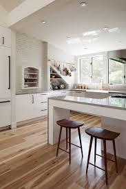 The Best White And Timber by Best 25 White Kitchen Flooring Ideas On Pinterest White Kitchen