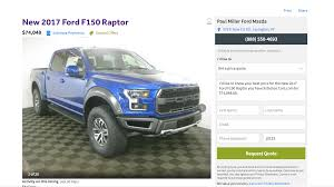 Ford Raptor Farm Truck - there u0027s already a 2017 ford f 150 raptor on sale u2026for 75k the drive