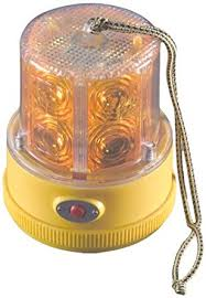 magnetic battery operated led lights amazon com north american signal pslm2 a led personal safety