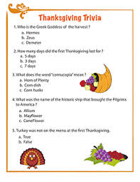canadian thanksgiving food facts for elementary
