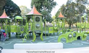 Botanic Gardens Brisbane City All Abilities Playground Brisbane Botanic Gardens
