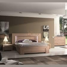 chambre adulte bois chambre adulte complète contemporaine wagram bois et verre laqué