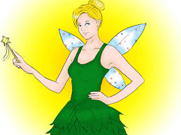 tinkerbell costume 4 ways to make a tinkerbell costume wikihow