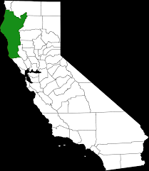 California Map With Cities File Emerald Triangle Png Wikimedia Commons