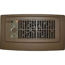 register booster fan reviews shop suncourt flush fit 13 75 in x 7 75 in brown abs resin louvered