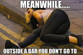 Drunk Girl Meme - a drunk girl is sleeping on a slice of pizza your argument is