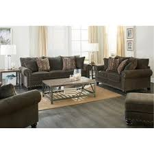 Sofas And Loveseats Sets by Traditional Tiger U0027s Eye Brown Sofa U0026 Loveseat Set Avery Rc