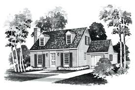 cape cod cottage plans cape cod homes plans floor plan and rendering of cape cod house
