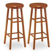 29 Inch Bar Stool Winsome Wood 29 Inch Square Leg Bar Stool Set Of 2 Hayneedle
