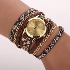 leather wrap bracelet watches images Relojes mujer 2017 leather braided wrap bracelet watches women 39 s jpg