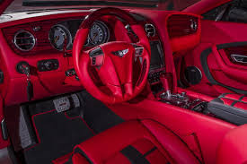 bentley steering wheel at night geneva bound sanguis is a bentley continental gt fettled by mansory