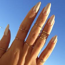 top 10 negative space nail art ideas almond nails art nails and