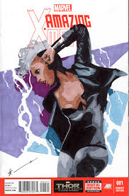 amazing x men storm sketch cover by skyscraper48 on deviantart