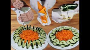 3 kitchen gadgets tested in carrot and cucumber by j pereira art