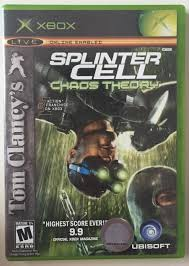 microsoft xbox tom clancy u0027s splinter cell original version
