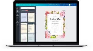 software pembuat undangan online buat kartu undangan pernikahan dengan 100 contoh canva