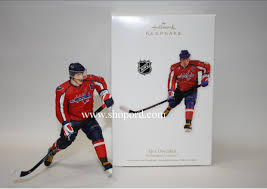 hallmark 2011 alex ovechkin hockey ornament player for washington
