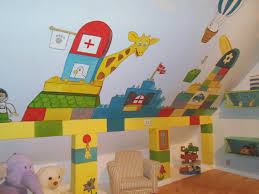 Kids Lego Room by Maggie Murals Lego Mural A Room For Kids