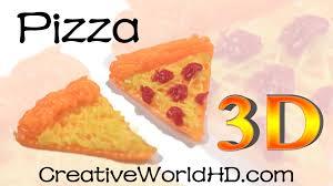 creation cuisine 3d how to pizza 3d printing pen creations scribbler diy tutorial