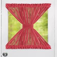 Sheer Door Curtains Collections Etc Sheer Door Panel Curtains 59 U0026amp Quot X 40 U0026amp