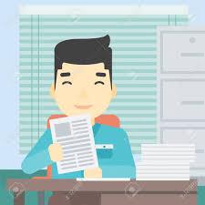 bureau des ressources humaines un gestionnaire asiatique des ressources humaines chargé de la