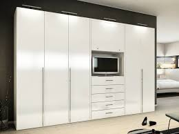 Contemporary Fitted Bedroom Furniture Bedroom Fitted Mirrored Double Modern Built In Wardrobes White