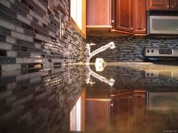 decorative stained glass tile backsplash kitchen ideas backsplash cherry cabinets black granite google search kitchen
