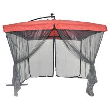 Solar Lights For Umbrella by Cantilever Patio Umbrella Reviews Home Design Ideas And Pictures