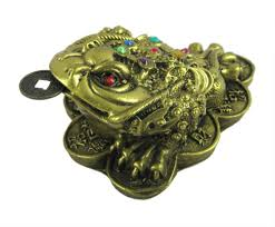 buy eshoppee feng shui three legged frog with coin for wealth and