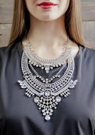 jewelry statement necklace images Glamorous over the top statement necklace happiness boutique jpg