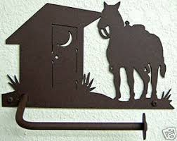 Animal Toilet Paper Holder Western Toilet Paper Holder Rustic Bathroom Decor