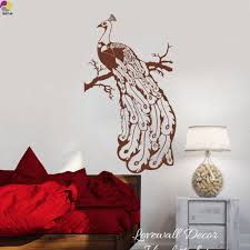peacock wall decal promotion shop for promotional peacock wall
