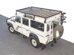 land rover 110 land rover defender 110 slimline ii roof rack kit tall by