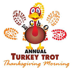 echo annual turkey trot nov 26 2020 evergreen area chamber of