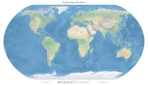 Blank Map Of World Physical by Map1 Type Jpg