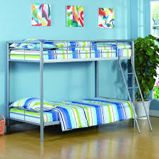 Metal Bunk Beds Twin Over Twin by Monarch Twin Over Twin Metal Bunk Bed Hayneedle