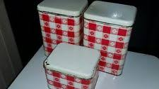 vintage kitchen canisters retro canisters ebay