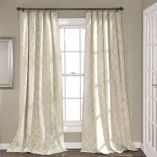 amazon com lush decor geo window curtain panel pair 84