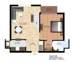 Duplex Floor Plan by Paras Seasons Floor Plan Sector 168 Noida Expressway