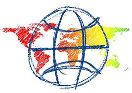 free illustration globe world continents sketch free image